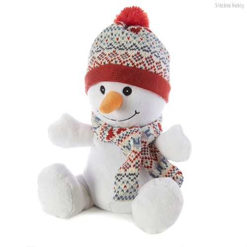 Игрушка грелка WARMIES CP-SNO-1 Снеговик - Warmies