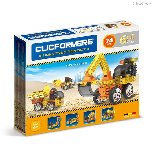 Конструктор Construction set 74 деталей - Clicformers