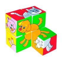 Кубики МЯКИШИ 209 Собери картинку Домашние животные - Мякиши