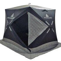 Зимняя палатка куб Woodland Ultra Long трехслойная - Woodland