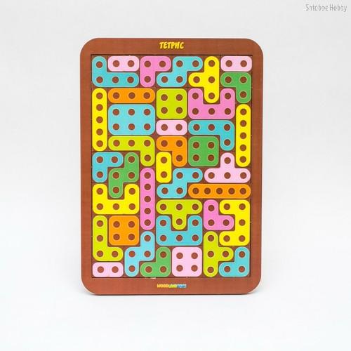 Логическая игра WOODLANDTOYS 65103 Тетрис большой Конструктор - WOODLAND