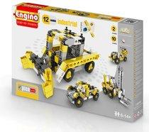 """Конструктор """"PICO BUILDS/INVENTOR. Спецтехника"""", 12 моделей - Engino"""