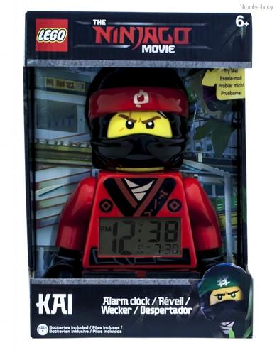 Набор LEGO 9009211 Будильник Ninjago Movie минифигура Kai - Lego