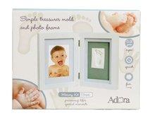 Набор ADORA NO005 Рамка двойная для фотографии и отпечатка (белая) - Adora