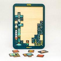 Логическая игра WOODLANDTOYS 65113 Тетрис большой Космос - WOODLAND