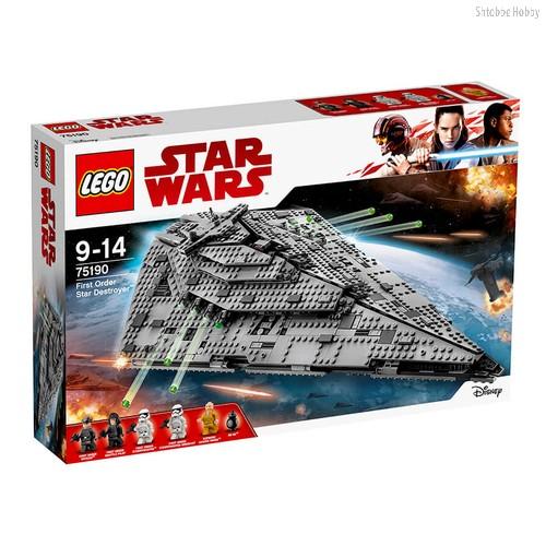 Конструктор LEGO Star Wars Звездный разрушитель первого ордена - Lego