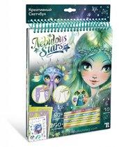 Набор для творчества NEBULOUS STARS 11102 Креативный Скетчбук зеленый - Nebulous Stars