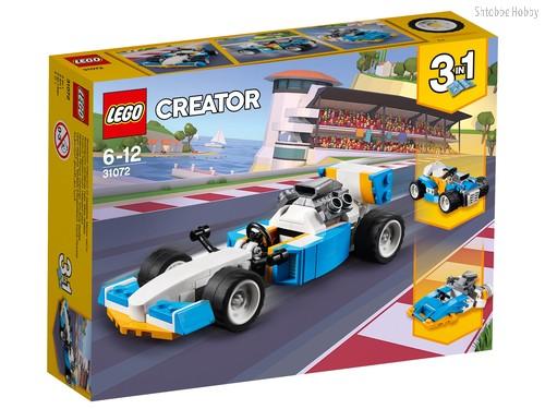 Конструктор LEGO 31072 Creator Экстремальные гонки - Lego