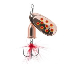 Блесна Premier Fishing Gidra Bug №4, 12г. CU с мухой PR-SPRH12B-4CU, 12 г - Тонар