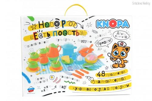 Игровой набор KNOPA 87027 Есть поесть - Knopa