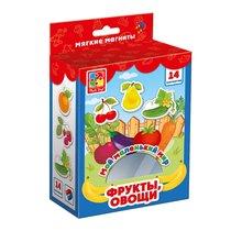 Развивающая игра VLADI TOYS VT3106-03 Мой маленький мир Овощи, фрукты - Vladi Toys