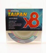 Леска плетеная Siweida Taipan Elite PE Braid X8 135м 0,23мм (13,64кг) мультиколор - Siweida