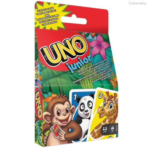 Настольная игра MATTEL GKF04 UNO Junior refresh - Mattel