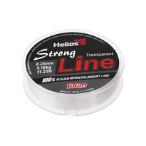 Леска Helios Strong Line 0,25мм 100м Transparent Nylon HS-SLT-25/100 - Тонар
