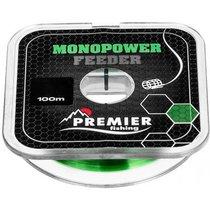 Леска Premier Fishing Monopower Feeder 0,18мм 100м Green Nylon PR-MF-G-018-100 - Тонар