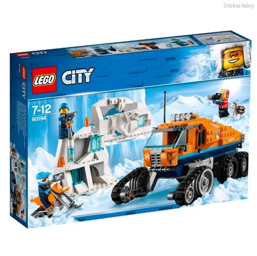 Конструктор City Arctic Expedition Грузовик ледовой разведки - Lego