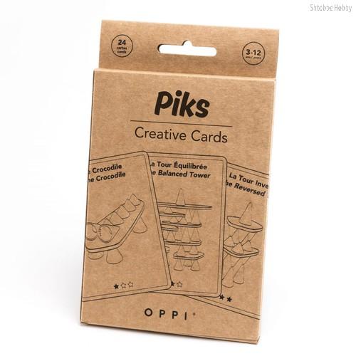 Oppi Piks Образовательные карточки (24 шт) - OPPI