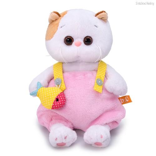 Мягкая игрушка BUDI BASA LB-038 Ли-Ли BABY в меховом комбинезоне 20см - Буди Баса