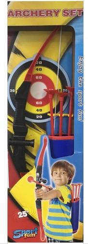 Игрушечное оружие Лук и стрелы с колчаном - TARG