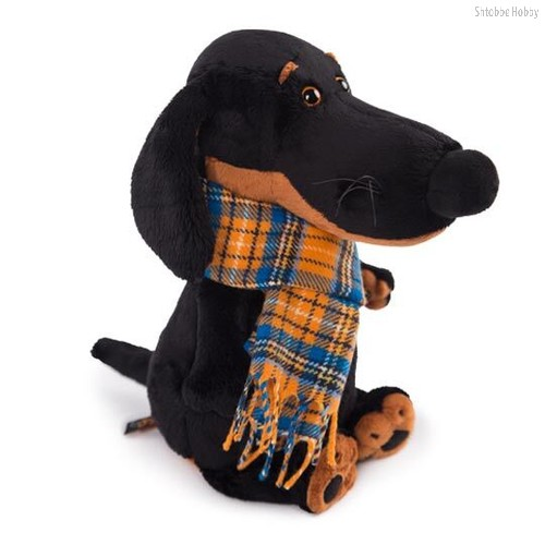 Мягкая игрушка BUDI BASA Vaks25-001 Ваксон в шарфе - Буди Баса