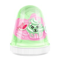 Слайм MONSTER'S SLIME FL002 Fluffy Арбуз светло-зеленый - Monster's Slime