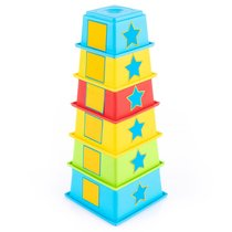 Пирамидка KNOPA 87007 Фигуры - Knopa