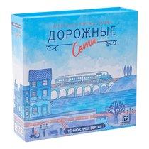 Настольная игра ИНТЕРХИТ 039096B Дорожные сети синяя - ИНТЕРХИТ