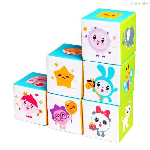 Кубики МЯКИШИ 397 Малышарики Предметики - Мякиши