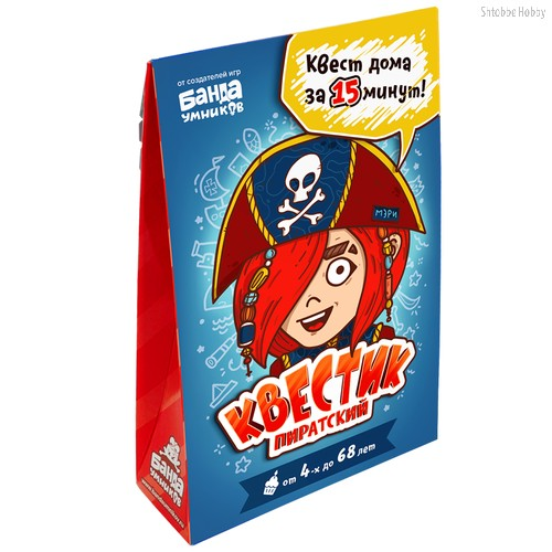Игра Квестик пиратский Мэри - Банда умников