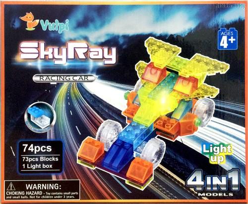Светодиодный конструктор Гонка Рейсеров 4 в 1 - Sky Ray
