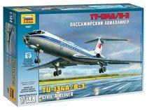 """Сборная модель ZVEZDA 7007 Авиалайнер """"ТУ -134А/Б-3"""" - Zvezda"""