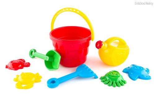 Набор Пляж - Пластмастер