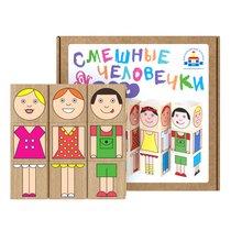 Кубики КРАСНОКАМСКАЯ ИГРУШКА КУБ-09 Смешные человечки - Краснокамская Игрушка