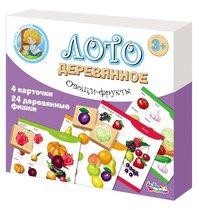 Лото ДЕСЯТОЕ КОРОЛЕВСТВО 01996 Овощи и фрукты