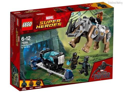 Конструктор LEGO 76099 Super Heroes Поединок с Носорогом - Lego