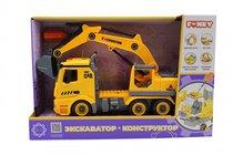 Машина пластиковая FUNKY TOYS FT61111 Экскаватор-конструктор 1:12 - Funky Toys