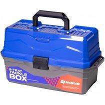 Ящик для снастей Nisus Tackle Box трехполочный синий N-TB-3-B - Тонар