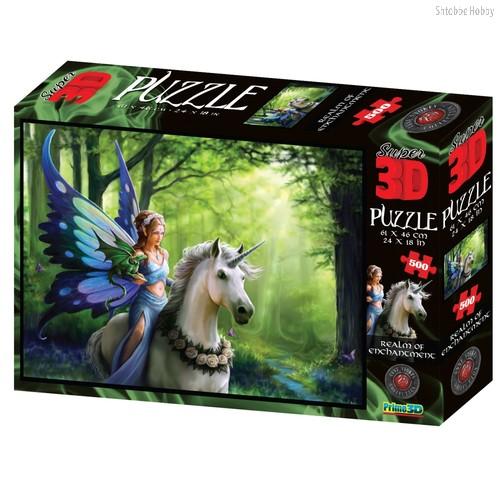 Стерео пазл PRIME 3D 10095 Царство очарования - Prime 3d