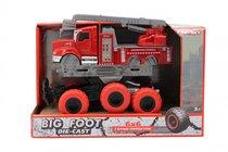 Машина пластиковая FUNKY TOYS FT61094 пожарная с выдвижной лестницей с краш-эффектом, кабина die-cast, 6*6