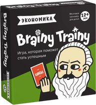 Игра-головоломка BRAINY TRAINY УМ267 Экономика - Банда умников