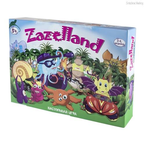 Настольная игра STRATEG 30213 Zazelland - Strateg