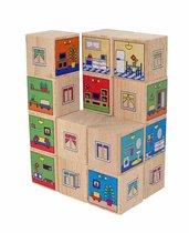 Кубики КРАСНОКАМСКАЯ ИГРУШКА КУБ-10 Квартиры - Краснокамская Игрушка