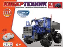 Конструктор CYBER TOY 7784 CyberTechnic 337 деталей синий - Cyber Toy