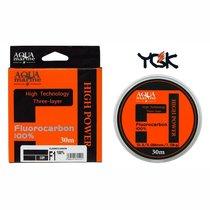 Леска флюорокарбон YGK 100% 0.6 / 0,139мм 30м (1,62 кг) прозрачная 1259825 - YGK