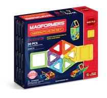 Магнитный конструктор MAGFORMERS 715001 Window Plus Set 20 set - Magformers
