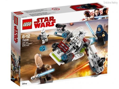 Конструктор Star Wars Боевой набор джедаев и клонов-пехотинцев - Lego