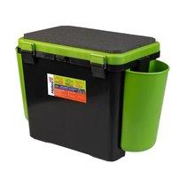 Ящик для зимней рыбалки Helios FishBox односекционный 19л зеленый - Тонар