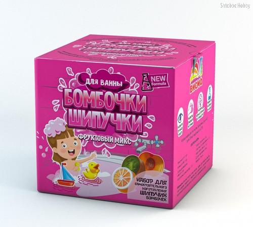 Набор для опытов ИННОВАЦИИ ДЛЯ ДЕТЕЙ 734 Бомбочки-шипучки, фруктовый микс - Инновации Для Детей