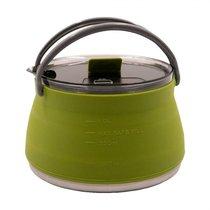 Чайник силиконовый складной Tramp 1л олива TRC-125 - Tramp