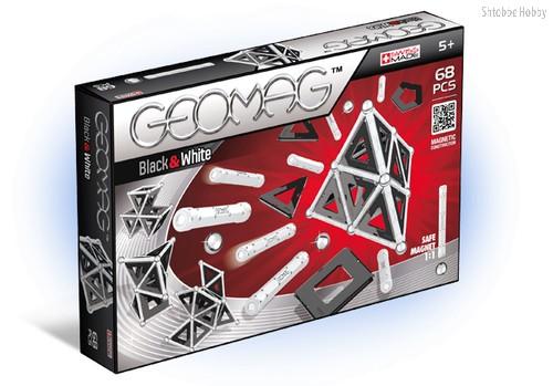 Магнитный конструктор GEOMAG 012 Black and White 68 деталей - Geomag